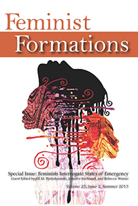 Feminist Formations 25.2 cover