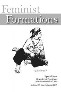 Feminist Formations 29.1 cover