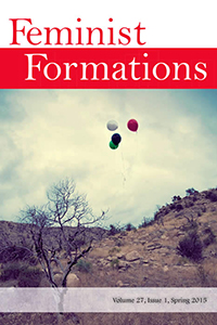 Feminist Formations 27.1 cover